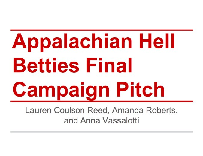 JOUR4530 Final Pitch Appalachian Hell Betties Page 1