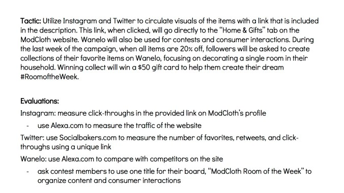 JOUR4530 Final Pitch ModCloth Page 9
