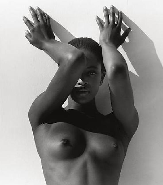 Naomi with Raised Arms, Los Angeles  1988