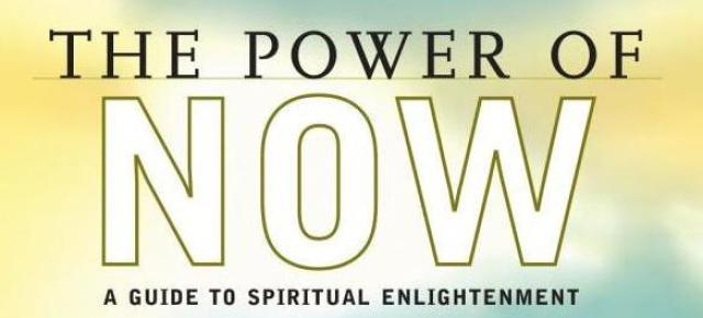 Inspirational Tuesday: Eckhart Tolle author of THE POWER OF NOW