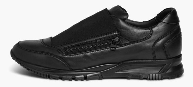 """O& A With Walestylez: Lanvin Smooth Drum-Dyed Lambskin Sneaker """"Black"""""""