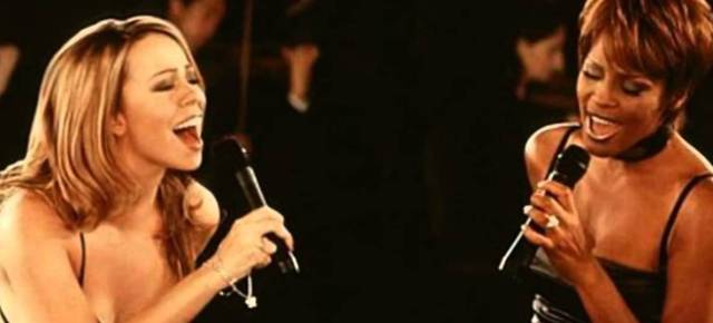9/11/14 O&A DIVA ALERT!: Mariah Carey and Whitney Houston- When You Believe