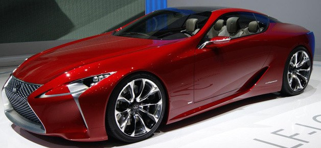 12/6/14 O&A Its Saturday- Anything Goes: Lexus LF-LC Concept Car
