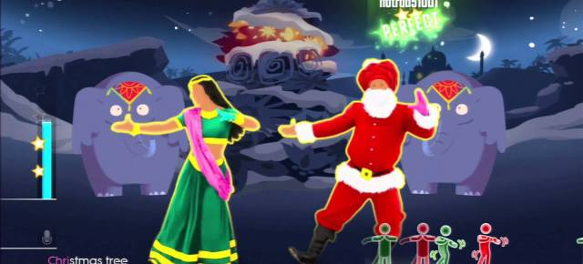 12/19/14 O&A Shall We Dance Friday: Just Dance 2015 Bollywood Santa – XMas Tree
