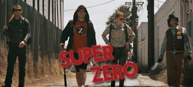 1/12/14 O&A Hollywood Monday: Super Zero: Badass Journey Into Zombie Awesomeness