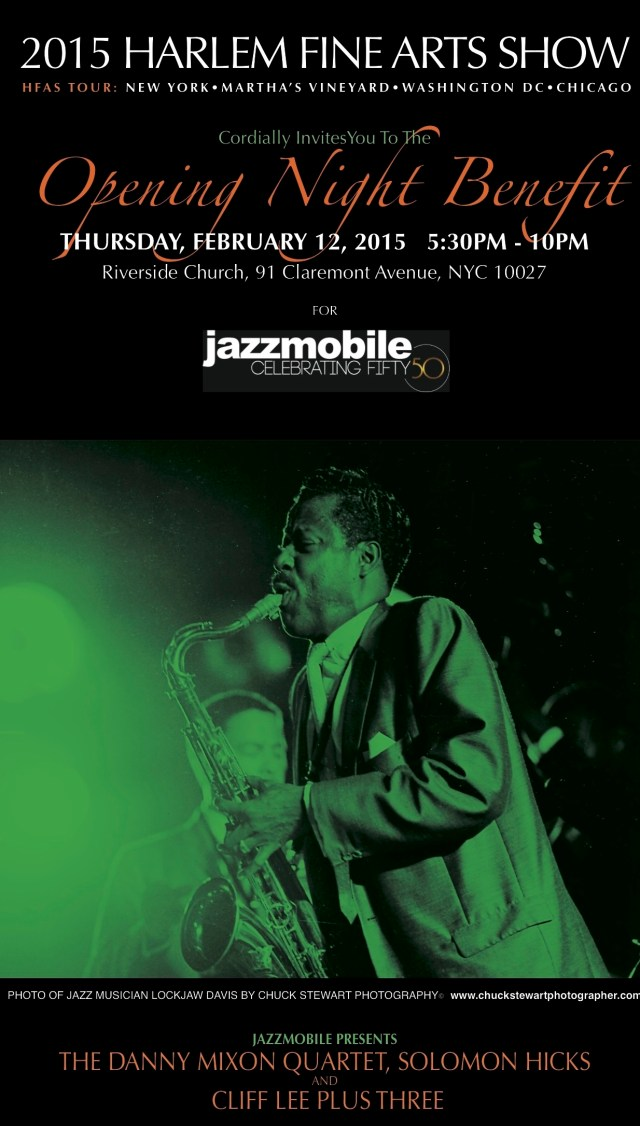 JAZZMOBILE OPENING NIGHT AT THE HFAS