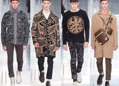 8/22/15 O&A Its Saturday- Anything Goes: Louis Vuitton Men's Fall/Winter 2015-2016