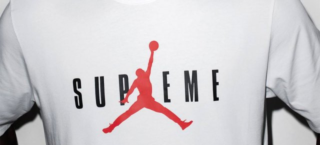 10/15/15 O&A NYC With WaleStylez: Supreme And Jordan T-Shirt At Terry Richardon's Studio
