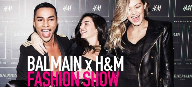 11/4/15 O&A NYC With WaleStylez Fashion: Balmain and H&M Collection Launches Tomorrow
