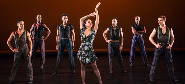 12/21/15 O&A NYC REVIEW: Alvin Ailey American Dance Theater- Piazzolla Caldera