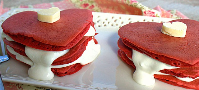 2/13/14 O&A NYC VALENTINE'S DAY SPECIAL: Quick and Easy Red Velvet Pancakes