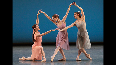 3/11/16 O&A NYC SHALL WE DANCE FRIDAY: Jerome Robbins- Dances at a Gathering