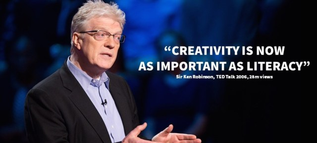 3/22/16 O&A NYC INSPIRATIONAL TUESDAY: Sir Ken Robinson- Do Schools Kill Creativity? TED talk