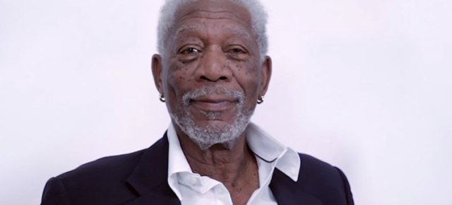 3/5/16 O&A NYC ITS SATURDAY- ANYTHING GOES: Morgan Freeman Dramatically Reads Justin Bieber's 'Love Yourself