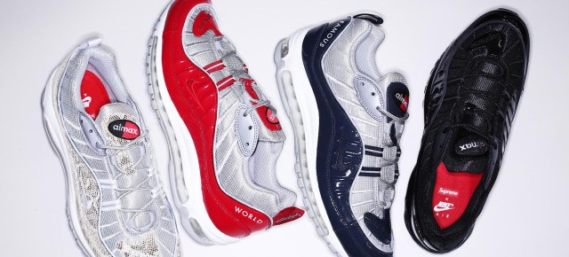 4/27/16 O&A NYC WITH WaleStylez FASHION: Supreme x Nike Air Max 98 Spring 2016 Collection