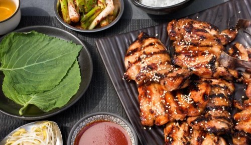 5/27/16 O&A NYC FOOD- MEMORIAL WEEKEND COOKOUT: Korean BBQ Chicken