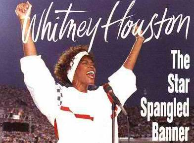 5/30/16 O&A NYC MEMORIAL DAY TRIBUTE: Whitney Houston- Star Spangled Banner
