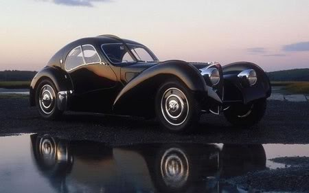 5/9/16 O&A NYC WITH WaleStylez AUTOMOBILE: Ralph Lauren's 40 Million Dollar All-Black 1936 Bugatti Type 57SC Atlantic Coupé