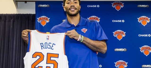 6/29/16 O&A NYC WITH WaleStylez SPORTS: New York Knicks Welcome Derrick Rose- Full Introductory Press Conference