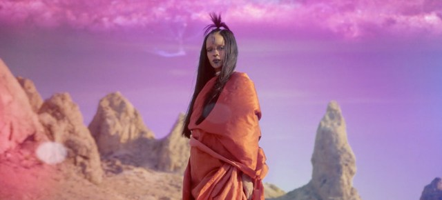 "7/1/16 O&A NYC WITH WaleStylez SONG OF THE DAY: Rihanna Is a Scary 'Star Trek' Character in the Cosmic Video for ""Sledgehammer"""