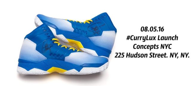 8/5/16 O&A NYC With WaleStylez Fashion: Concepts Is Giving Away Steph's Autographed Shoes For Upcoming Curry Lux Launch