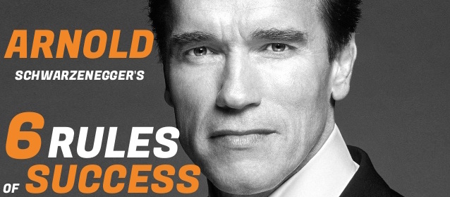 9/20/16 O&A NYC INSPIRATIONAL TUESDAY: 6 Rules of Success- Arnold Schwarzenegger