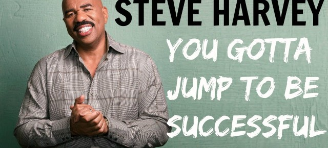 10/4/16 O&A NYC INSPIRATIONAL TUESDAY: Steve Harvey On Success