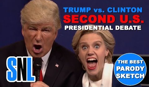 10/16/16 O&A NYC THE RACE TO THE WHITE HOUSE: Donald Trump vs. Hillary Clinton Town Hall Debate- SNL