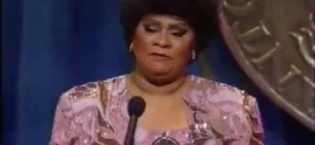 10/18/16 O&A NYC INSPIRATIONAL TUESDAY: Ruth Brown's 1989 Tony Award Acceptance Speech For Best Actress in a Musical And Performance With Linda Hopkins And Cast
