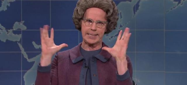 11/6/16 O&A NYC COMEDY: Weekend Update: Church Lady on the Election – SNL