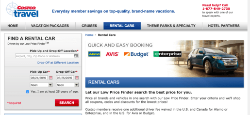 car rental best price