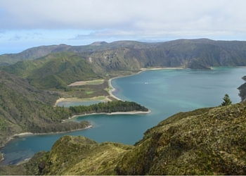 Fire Lake Azores Islands