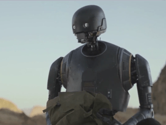 K-2SO played by Alan Tudyk in Rogue One: A Star Wars Story