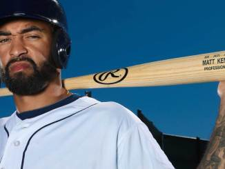 Matt Kemp has been acquired by the ATlanta Braves. (Photo via Rawlings.com)
