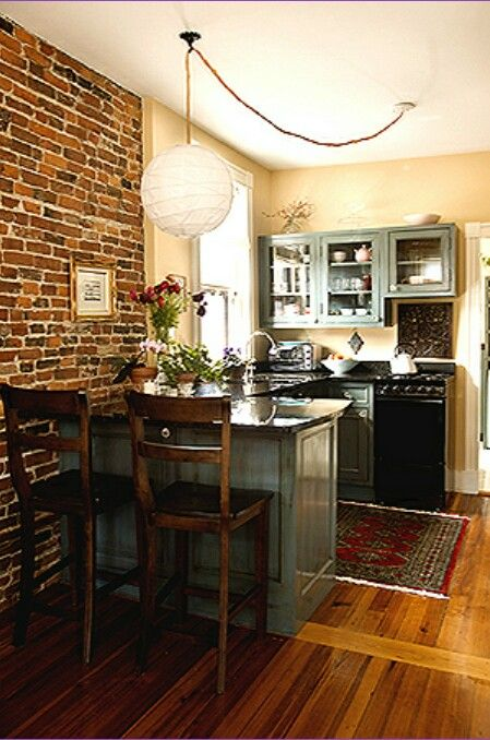 Tiny kitchen decor and remodeling ideas we love diy for Small kitchen in garage