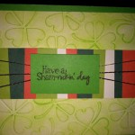 Craftastic – St. Patrick's Day Card
