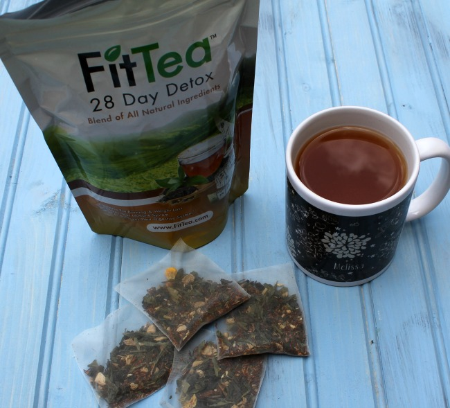 Detox with #FitTea - FitTea Review