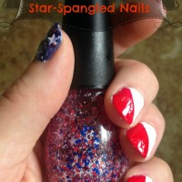 DIY Star-Spangled Nails Using SinfulColors