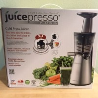 Juicing the Easy Way with Juicepresso Platinum