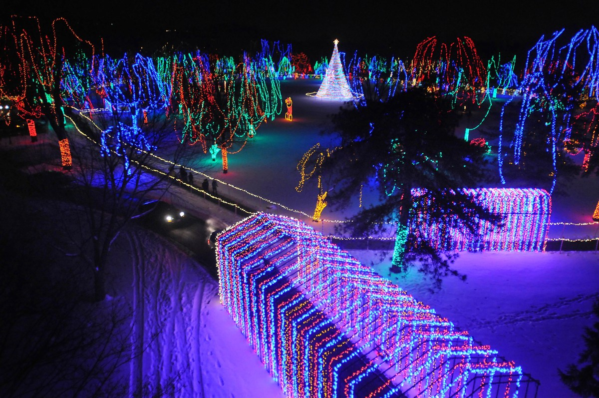 Kiwanis Holiday Lights in Mankato Minnesota