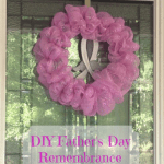 DIY Father's Day Remembrance Wreath
