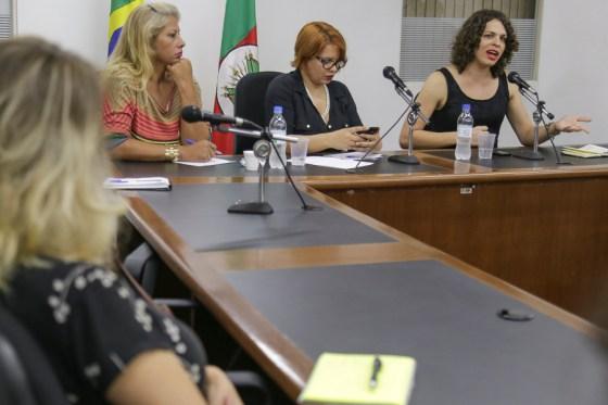 09/06/2015 - PORTO ALEGRE, RS, BRASIL - Puta Dei na Assembleia Legislativa. Foto: Guilherme Santos/Sul21
