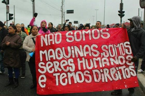 Um ato de convocação da greve como aquele de que participaram Juraci, Luciano e Ricardo. Crime?