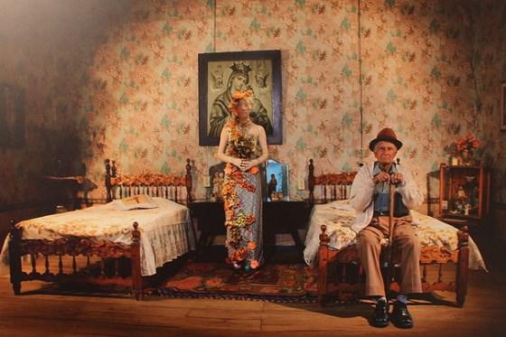 """""""Noiva"""", da fotógrafa colombiana Évelin Velazquez. Ela integra o coletivo Casa Tres Patios, de Bogotá -- um dos """"nós"""" do Colaboratório das Artes"""