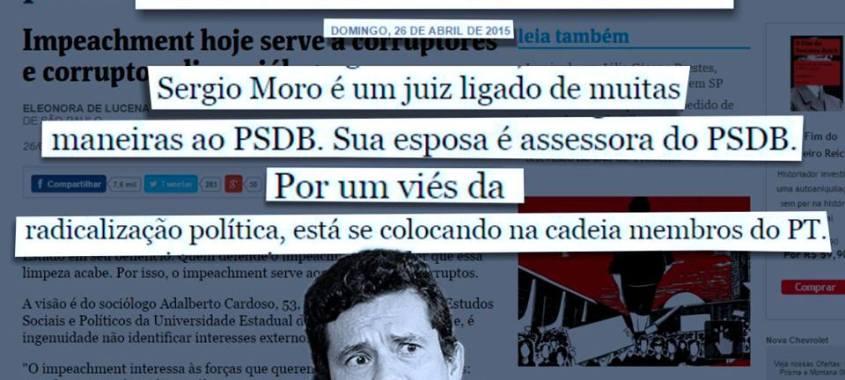 Ligações do juiz Sérgio Moro com o banqueiro da privataria tucana