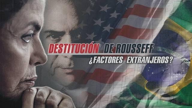 A mãos dos Estados Unidos no golpe brasileiro