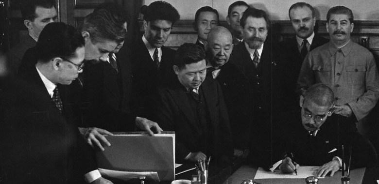 Foi Stálin quem derrotou o Japão