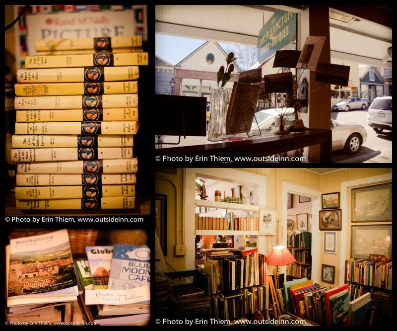 Antiques and Used Books at Inner Sanctum