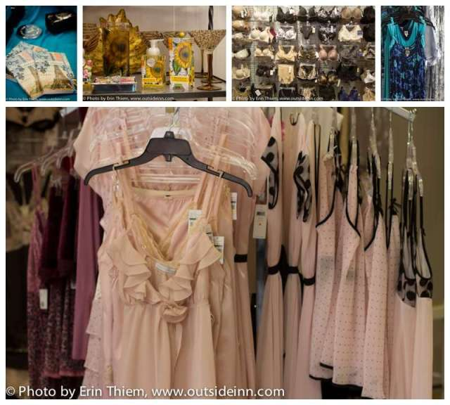 Grass Valley Top Drawer, Women's sleepwear and Lingerie Store