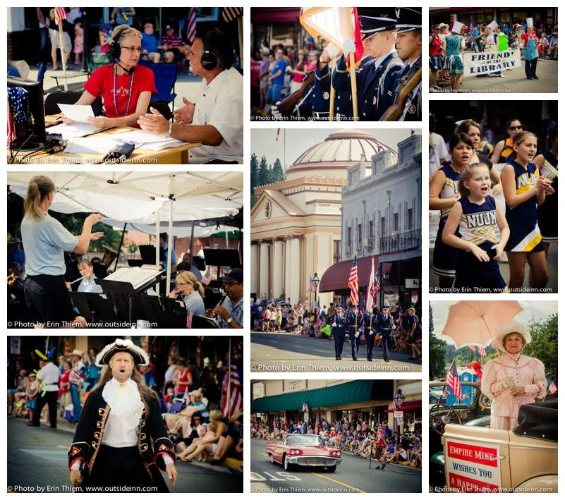Photos of Grass Valley Independence Day parade
